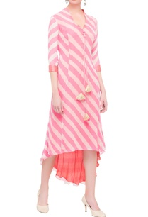 pink-red-striped-tie-and-dye-dress