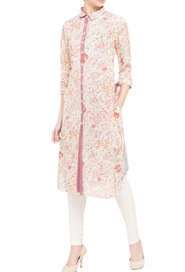 red-floral-shirt-kurta-with-stripe-inner