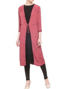 wine-crepe-silk-front-open-jacket