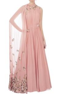 pink-jumpsuit-with-floor-length-shoulder-drape