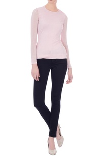 baby-pink-tulle-shimmer-blouse