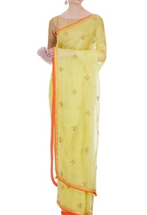 yellow-marodi-work-kota-silk-sari