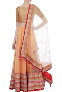 peach-embroidered-net-lehenga-dupatta