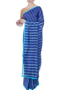 blue-chanderi-sari