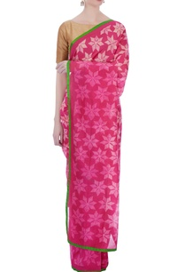 pink-red-geometric-chanderi-sari