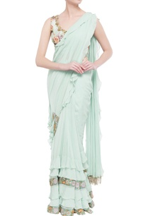 blue-embellished-sari-with-printed-blouse