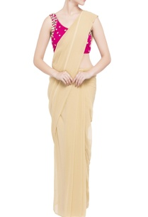 pink-mirror-work-sari-blouse