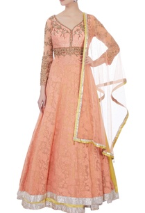 pink-embroidered-kurta-lehenga