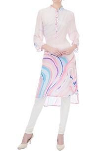 multicolored-marbella-printed-crepe-kurta