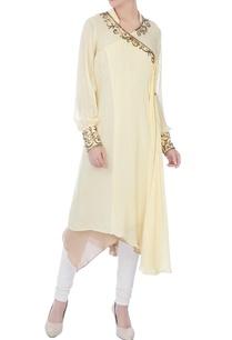 cream-wrap-crepe-silk-sequin-jacket