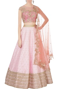 pink-raw-silk-lehenga-blouse