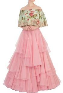 pink-frilly-net-lehenga-blouse