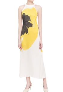 ivory-abstract-printed-georgette-maxi-dress
