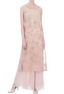 pale-pink-chiffon-pleated-sharara-pants