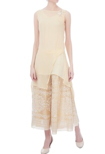 cream-white-chikan-embroidered-sharara-pants
