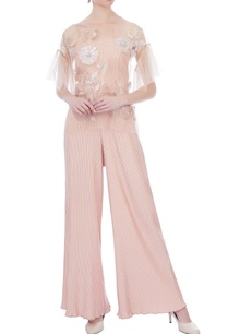 pale-pink-pleated-high-waist-pants