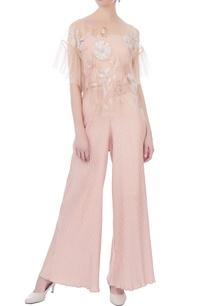 pale-pink-nylon-net-cape-blouse