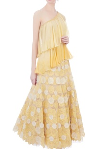 yellow-ombre-chiffon-tiered-style-one-shoulder-blouse