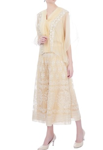 light-caramel-yellow-blouse-with-tassel-threads