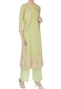 light-green-georgette-embroidered-kurta-with-pants-jacket