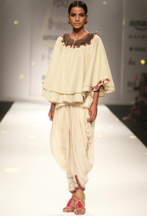 ivory-khadi-cape-with-cami-top-cowl-dhoti