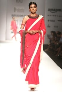 red-tassel-embroidered-sari-with-matching-blouse