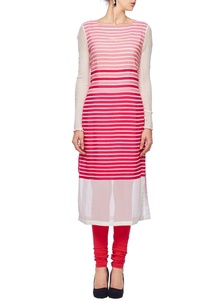 white-pink-striped-tunic