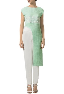 mint-embellished-asymmetrical-tunic