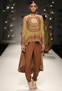 brown-overlap-dhoti-pants