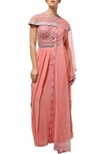 carnation-pink-embroidered-cape-suit-with-dupatta
