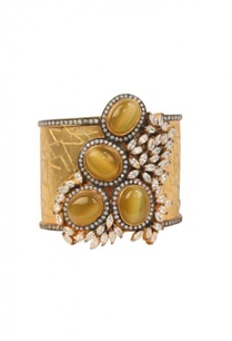 gold-plated-olive-dimante-studded-cuff
