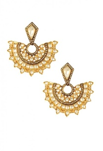 gold-plated-silver-crystal-fan-earrings