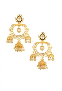gold-plated-pearl-crystaltriple-jhumkas