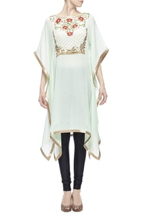 mint-gold-floral-embellished-kaftan
