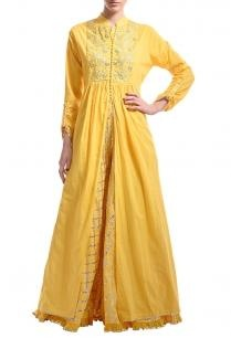 canary-yellow-gota-embroidered-jacket-with-lehenga