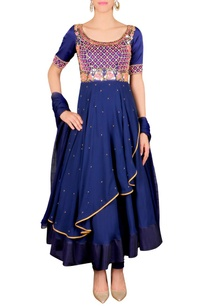 royal-blue-embellished-anarkali-set