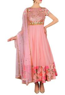 blush-pink-floral-embroidered-printed-anarkali-set