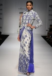 ivory-indigo-embroidered-jacket-with-matching-sari