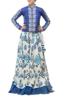 royal-blue-white-motif-printed-embroidered-lehenga-set