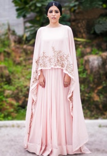blush-pink-gold-embellished-cape-gown