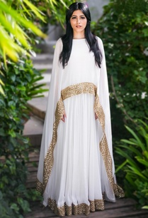 ivory-gold-embellished-cape-gown