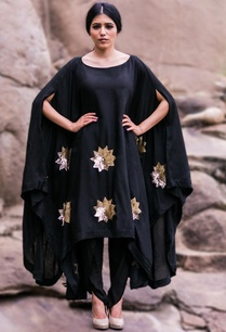 black-floral-embroidered-cape-with-black-dhoti-pants