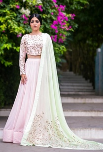 pale-pink-mint-floral-embroidered-lehenga-set