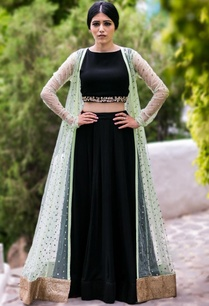 mint-embellished-jacket-with-black-crop-top-lehenga