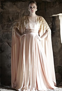 blush-pink-embellished-cape-with-lehenga