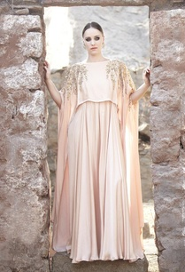 blush-leaf-embroidered-cape-gown