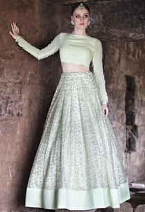 mint-crop-top-with-embroidered-lehenga