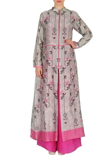 light-grey-pink-floral-printed-tunic-with-palazzos