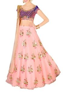 blush-pink-royal-blue-floral-embellished-lehenga-set