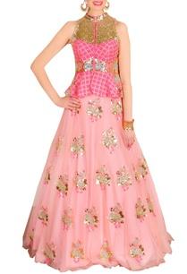blush-pink-lehenga-a-peplum-embellished-blouse